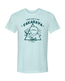 tiger shark blue fakarava t-shirt