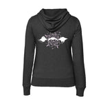 sweat shirt raie manta gris