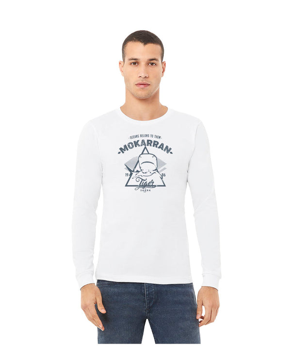 T-shirt manches longues Tiger Shark