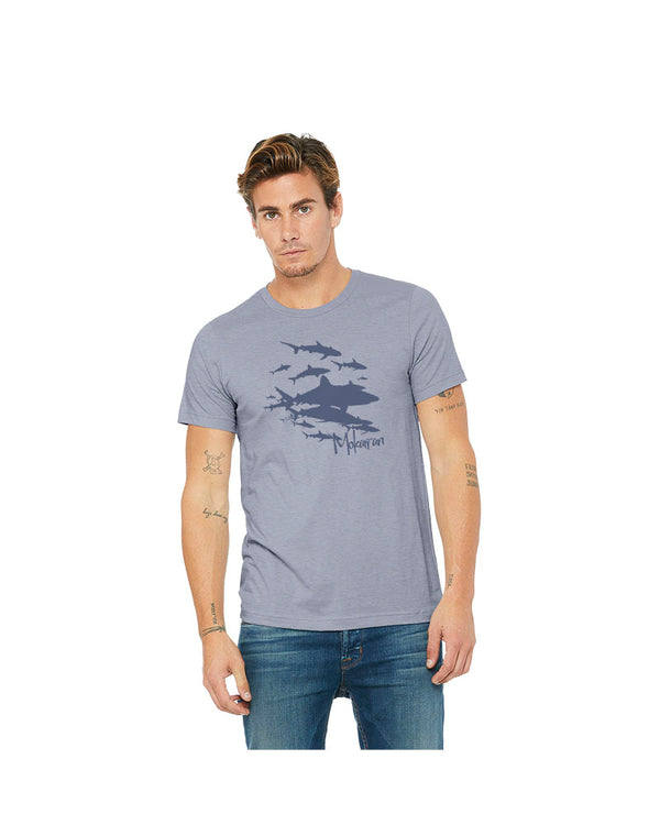 T-shirt Sharks Wall