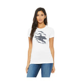 T-shirt col rond Shark Wall
