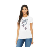 Manta Flowers round neck t-shirt