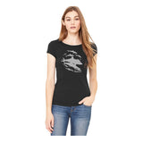 T-shirt col large Sharks Wall