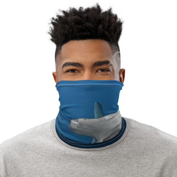 Hammerhead shark neck warmer