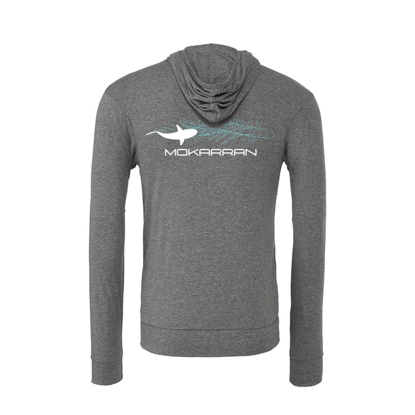 sweat requin gris