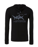 Sweatshirts diving hammerhead shark rangiroa black