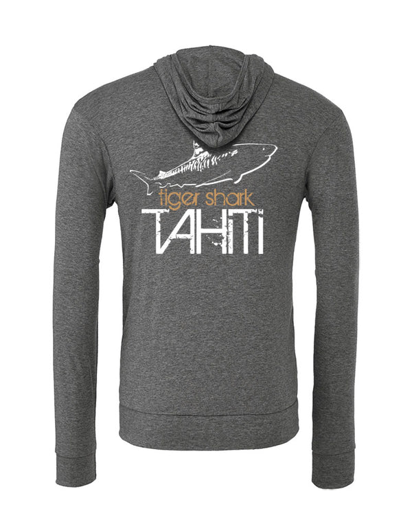 Sweat shirts plongée requin tigre Tahiti