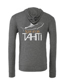 Tahiti tiger shark diving sweatshirts