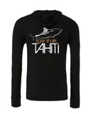 Tahitian tiger shark diving sweatshirts black