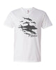 Tee shirt col V Sharks Wall