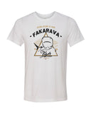 tiger shark white fakarava t-shirt