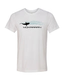 T-shirt requin en mouvement