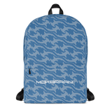 blue hammerhead shark backpack