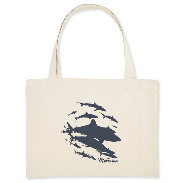 SHOPPING BAG SHARK WALL