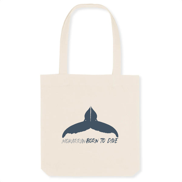 Totebag Born to dive