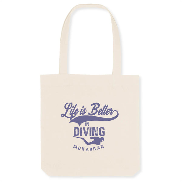 Totebag Life is Better in Diving