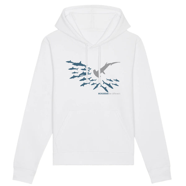 ORGANIC BE DIFFERENT HOODED SWEAT