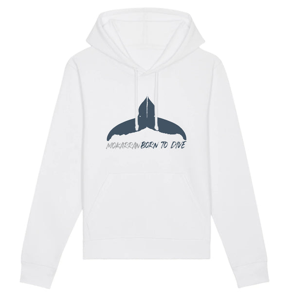 ORGANIC HOODED SWEAT BORN TO DIVE