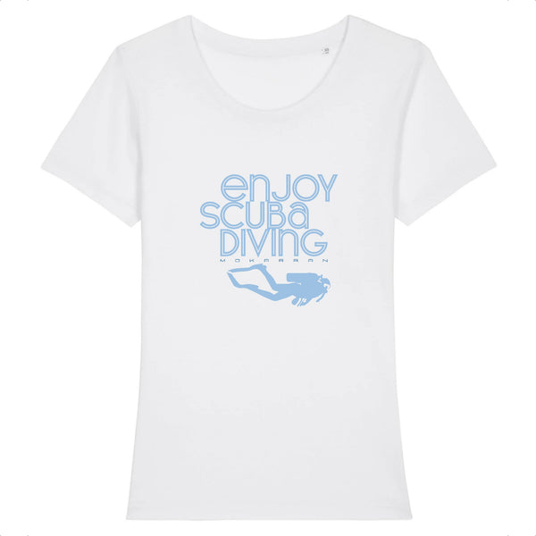 T-SHIRT COL ROND BIO ENJOY SCUBA DIVING
