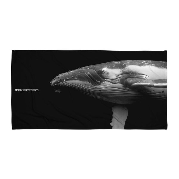 Humpback Whale Beach Towel