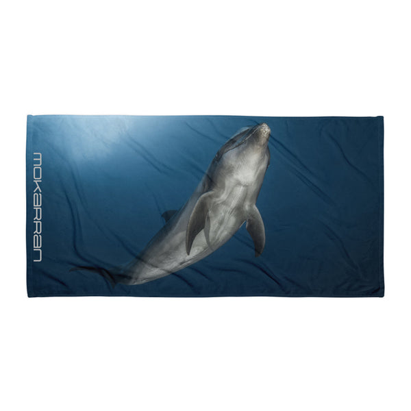 Tursiops beach towel