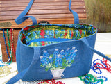 6020 Baker Street Bag - Bluebonnet
