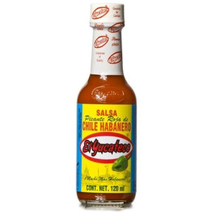 Habanero Red Sauce El Yucateco 120ml