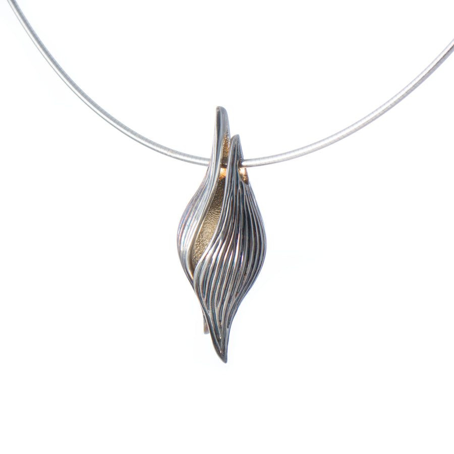 Silver Seed Pendant