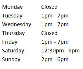 BodySong Store Hours