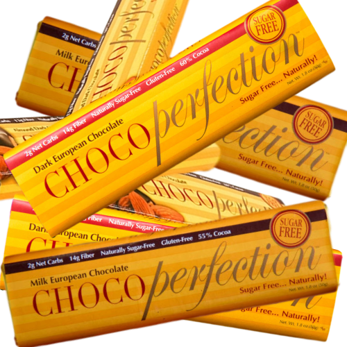 ChocoPerfection® Sugar-Free Chocolate - Qty 12 (Multiple Flavors)