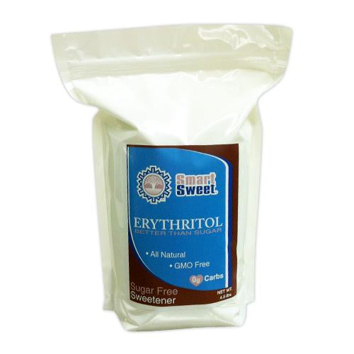 Smart Sweet Erythritol Granules All Natural - GMO Free Erythritol (2 pouch sizes)