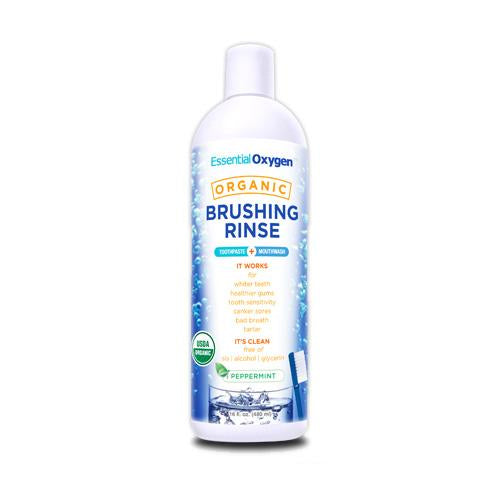 Essential Oxygen's Organic Brushing Rinse