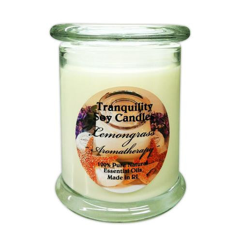 Tranquility Soy Candle - Glass Jar