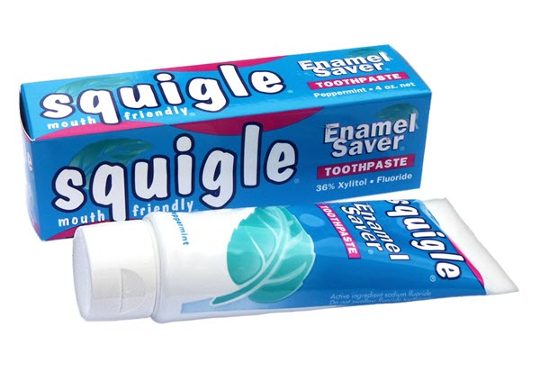 Squigle Xylitol Toothpaste - Peppermint