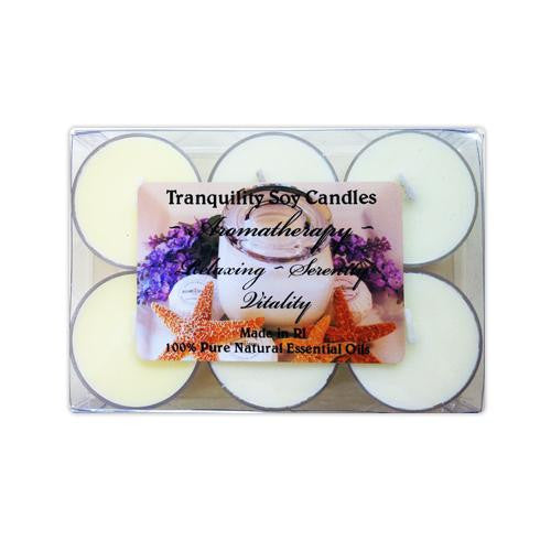Tranquility Soy Candle Tealights - Set of 6