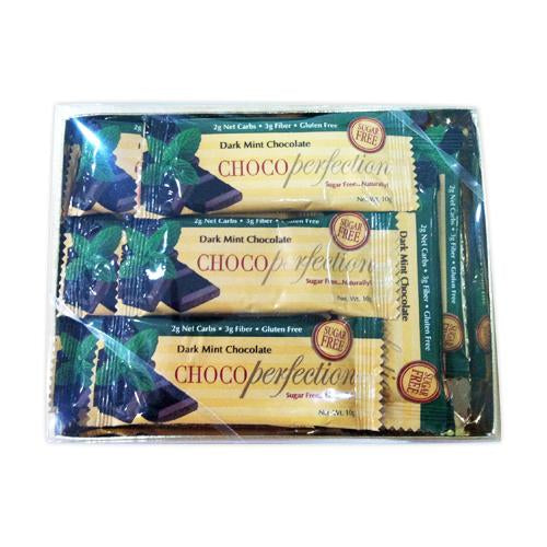 ChocoPerfection® Sugar-Free Chocolate .10g Bar 15-Pack (2 Flavors)