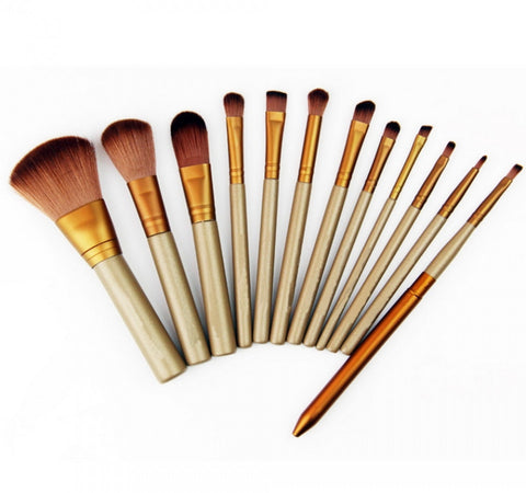 12 Pcs Professional Cosmetic Makeup Brushe Set