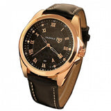 Yazole 342 Mens Watch Luxury Quartz Rose Gold