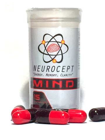 MIND by Neurocept Supplement Nootropic-CYBER MONDAY!  Select 3 bottle option for the price of 2 bottles!