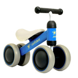 MrPomelo Baby Balance Bikes Scooter Baby Walker Infant Scooter No Foot Pedal Driving Bike Gift for Infant Load Bearing 20KG