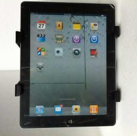 Back Seat Headrest Mount Holder For iPad or Samsung Tablets