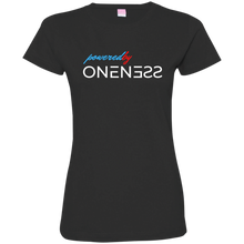 Powered By Oneness Woman's Fine Jersey T-Shirt