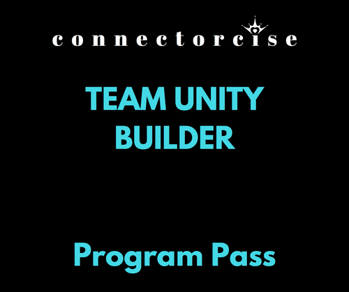 Quarterly 6-Pack of Unity Team Building Connectorcise Workouts for Team of 5-15