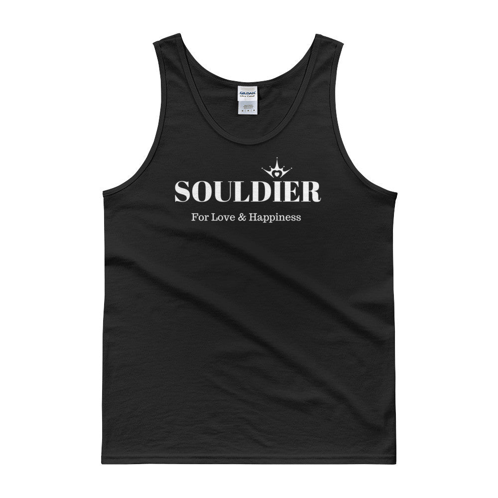 Souldier for love and happiness Tank top