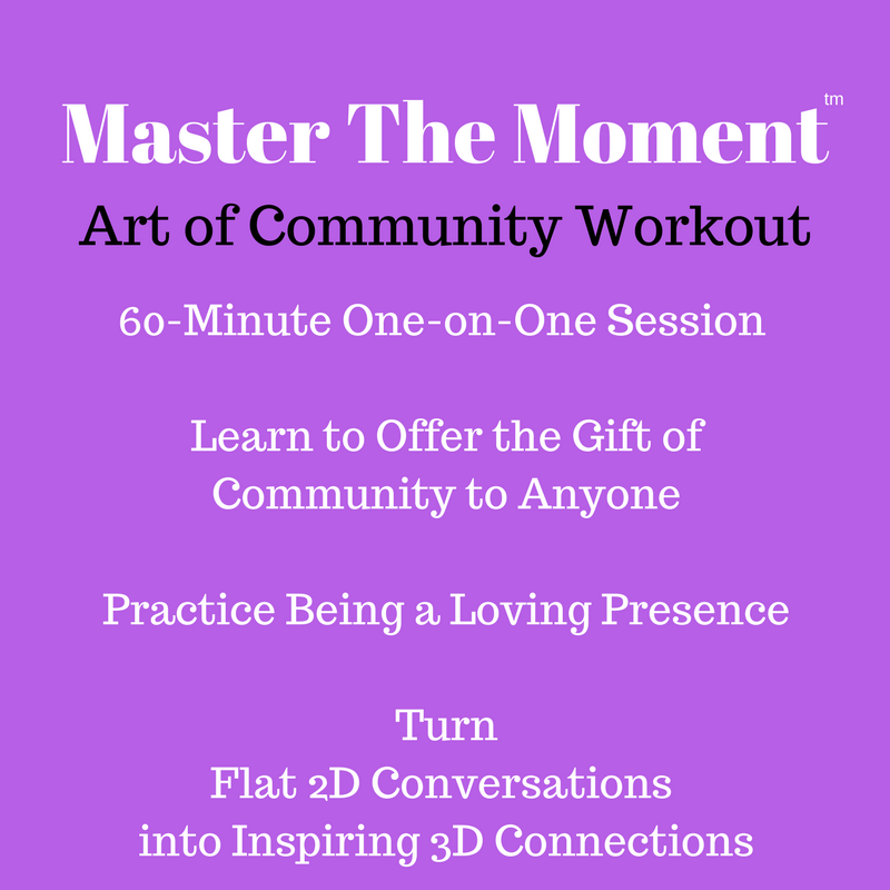 60-Minute One-on-One Art of Community Workout Session