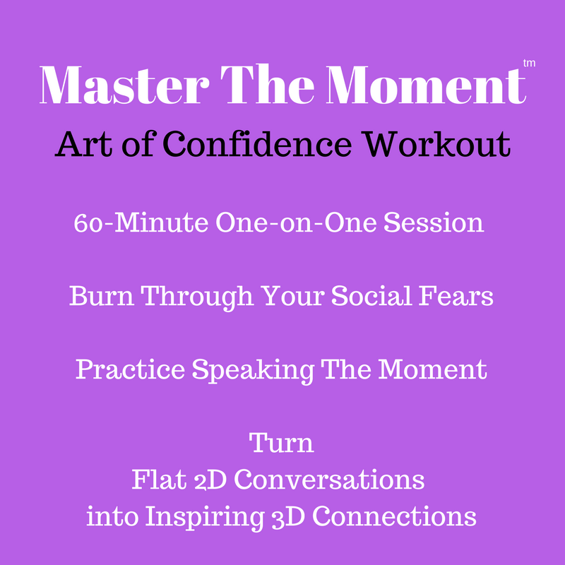 60-Minute One-on-One Art of Confidence Workout Session