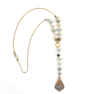 A Simple Lariat Necklace