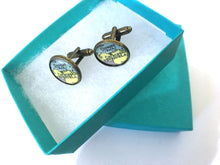Load image into Gallery viewer, Cufflinks - Venezuela Vintage Map Cufflinks
