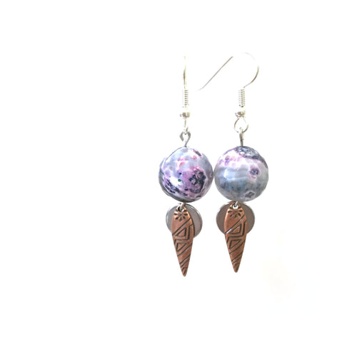 Earrings - Cold Shoulder Earrings - 8:100 Day Project