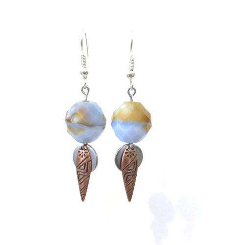 Earrings - Crystal Desert - 7:100 Day Project
